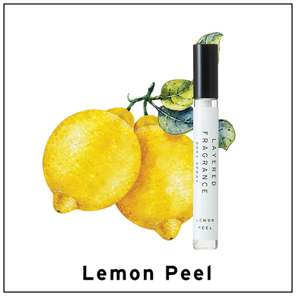 Body Spray 10ml - Lemon Peel