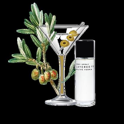 Body Spray 100ml - Olive Vodka