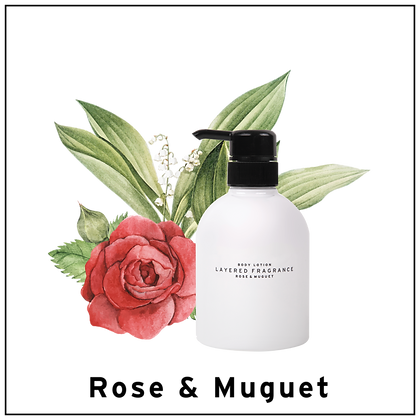 Body Lotion - Rose & Muguet