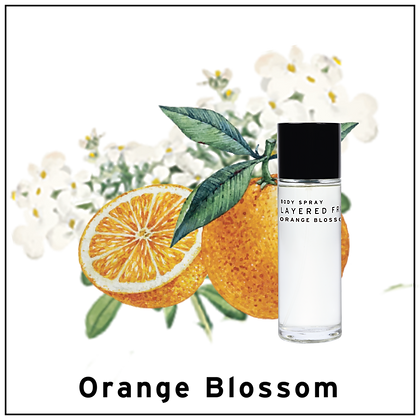 Body Spray 100ml - Orange Blossom
