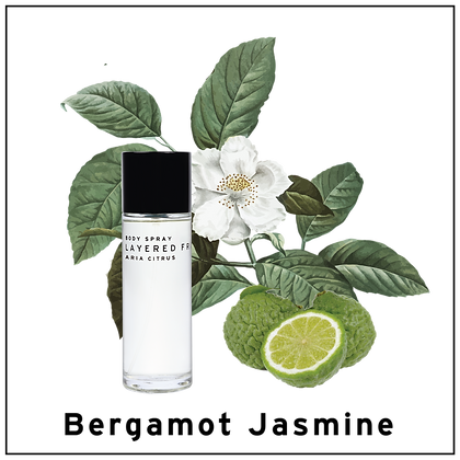 Body Spray 100ml - Bergamot Jasmine