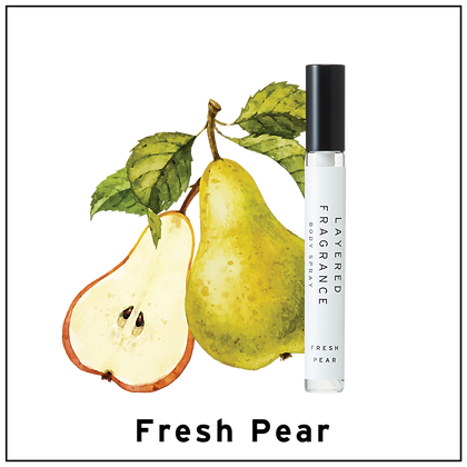 Body Spray 10ml - Fresh Pear