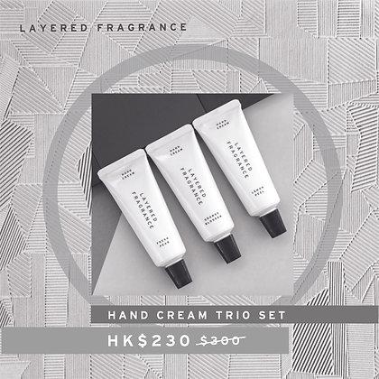 Hand Cream Trio Set