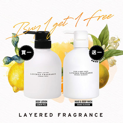 LAYERED.F Body Care - Buy 1 Get 1 Free Offer