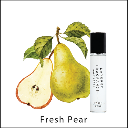 Layered F. Body Spray 30ml - Fresh Pear