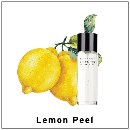 Body Spray 100ml - Lemon Peel