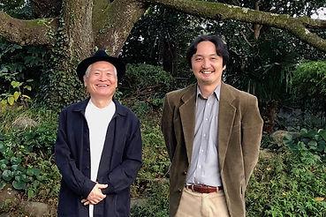 イラストレーター南伸坊氏との記念写真