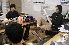 東京芸大建築科時代の制作風景a.JPG