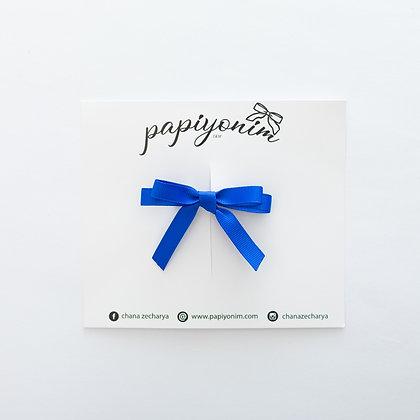 סיכת פפיון ריפס בלרינה - כחול