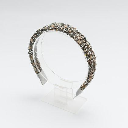 קשת אבנים אלגנטית -כסוף אפור