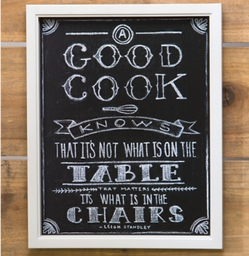 "Curly Girl ""Good Cook"" Kitchen Sign"