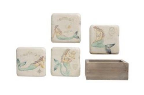 Lori Siebert Mermaid Coasters