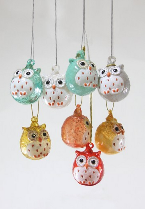 Tiny Owl Ornament