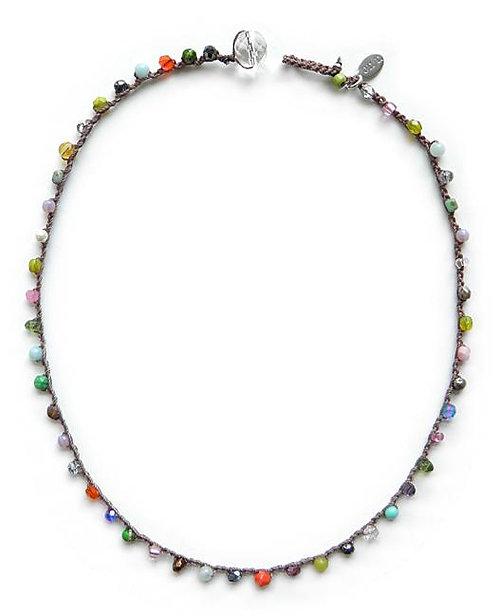 Dot Necklace (Multi)