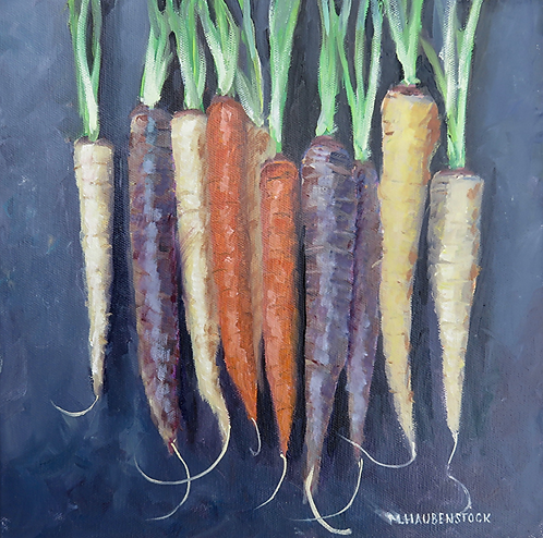 """Hanging Carrots"""