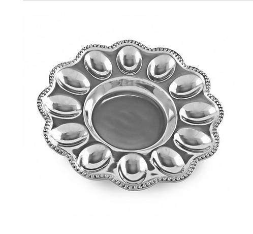Pearl Deviled Egg Platter