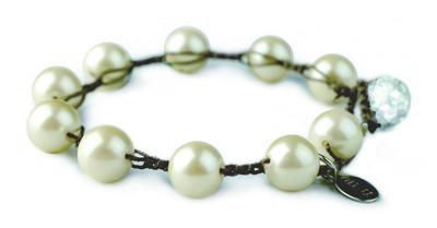 Vintage Faux Pearl Bubble Bracelet