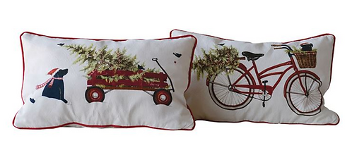 Holiday Scene Pillow