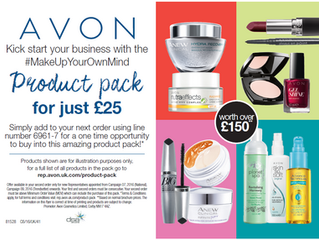 £150 worth of products for £25!