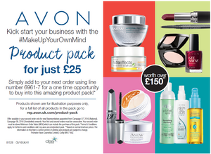 join Avon UK, Top selling Avon Team UK, Avon Product Pack Special
