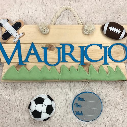 LETRERO PARA HOSPITAL /Football soccer y americano