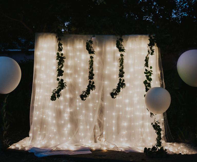 Twinkle Curtain
