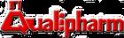 Logo gordito rojo Qualipharm limpio de p