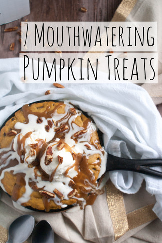 7 Mouthwatering Pumpkin Treats