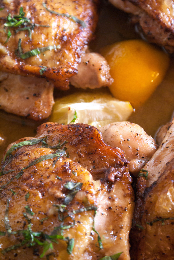 Browned Butter Lemon Chicken