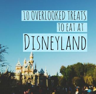 10 Overlooked Treats To Eat At Disneyland