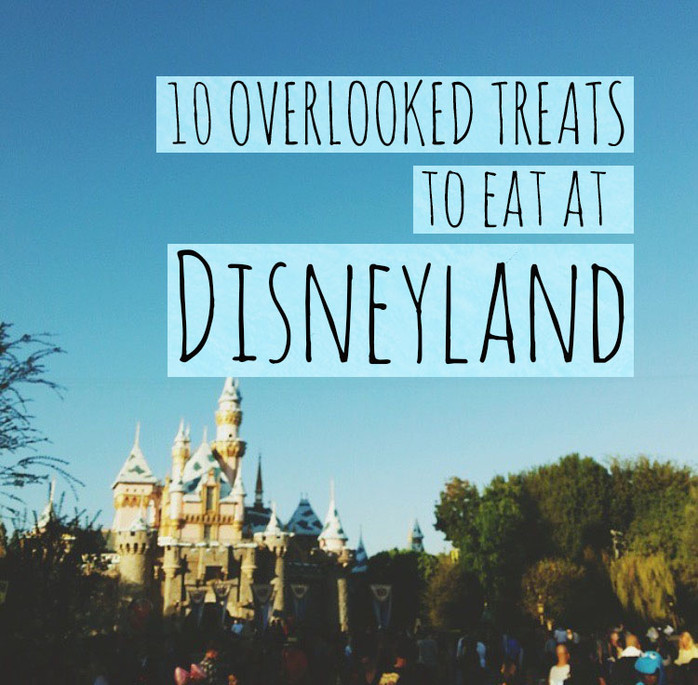 10 Overlooked Treats To Eat At Disneyland