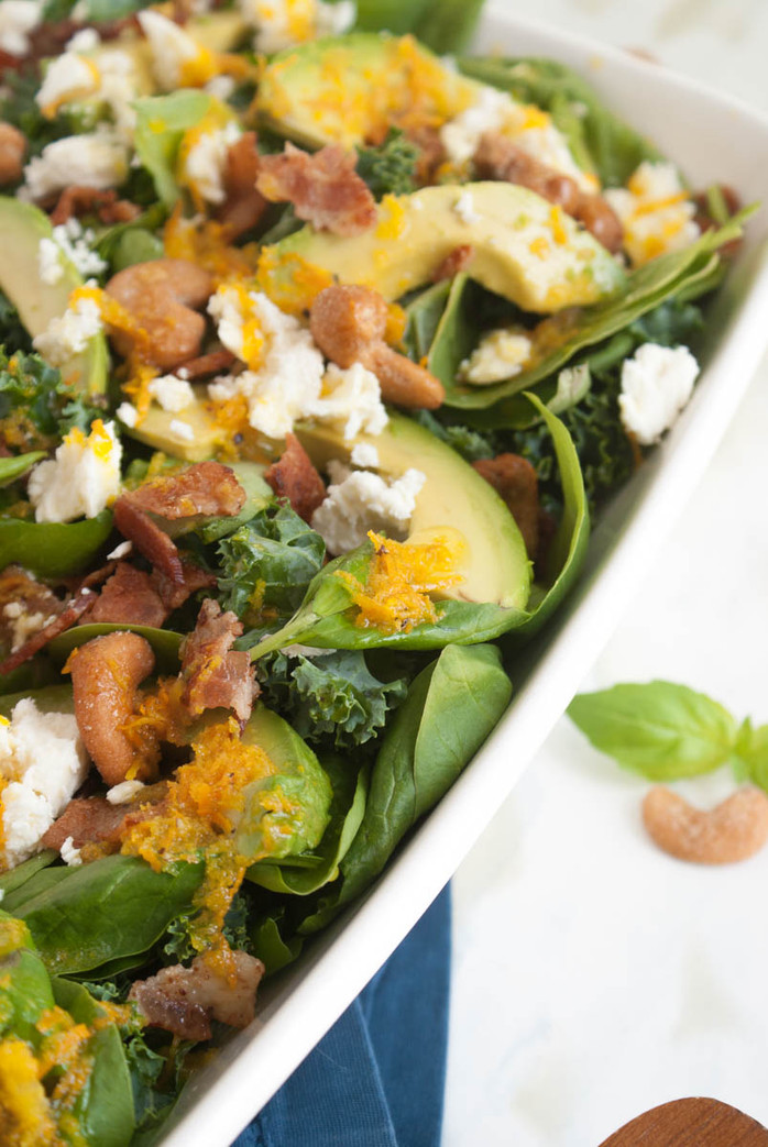 Orange Vinaigrette Super Salad