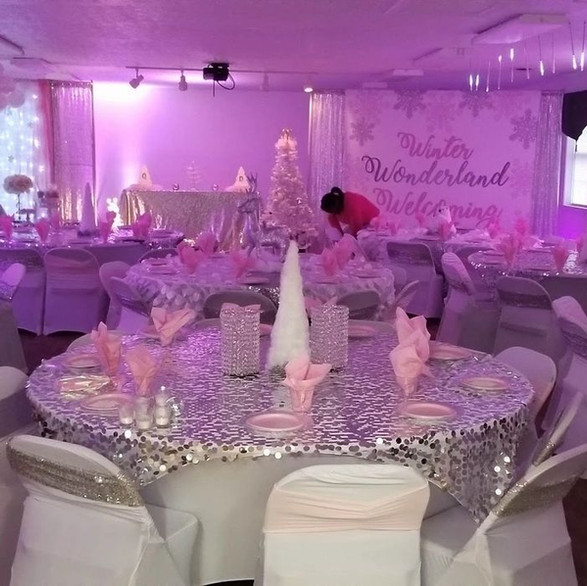 TABLES & CHAIR RENTALS