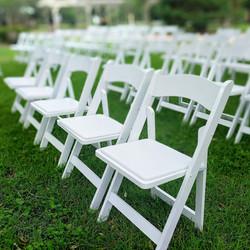 Resin Garden Folding Chairs