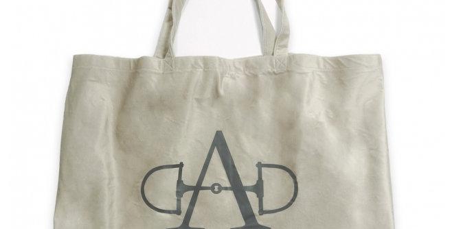 Adamsbro - Beige Velvet Tot Bag