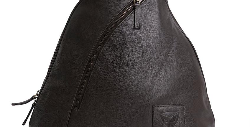 Marise Helmet Bag - Chocolate