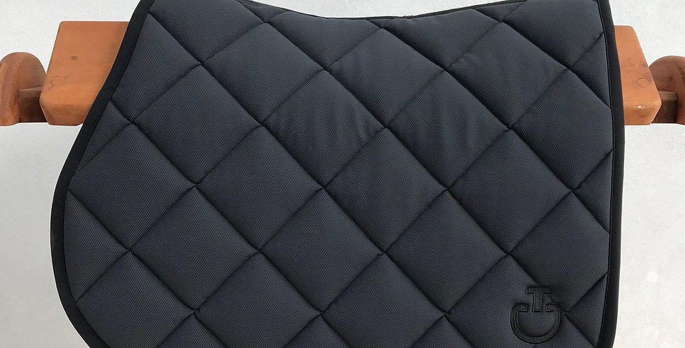 Cavalleria Toscana - Jersey Quilted Rhombi Jumping Saddle Pad