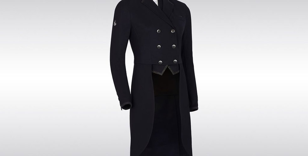 Samshield - Frac Crystal Fabric Tail Coat, Black