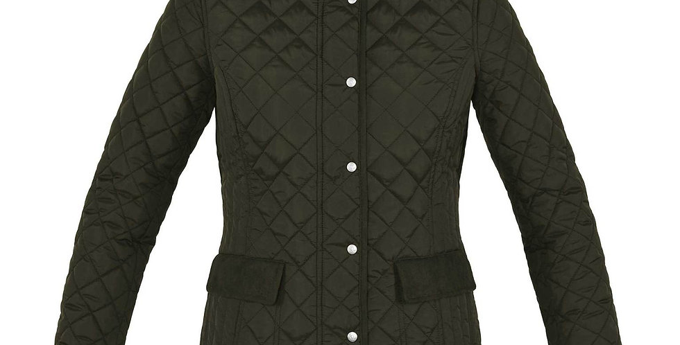 Kingsland - Messina Quilted Jacket,Brown Canteen