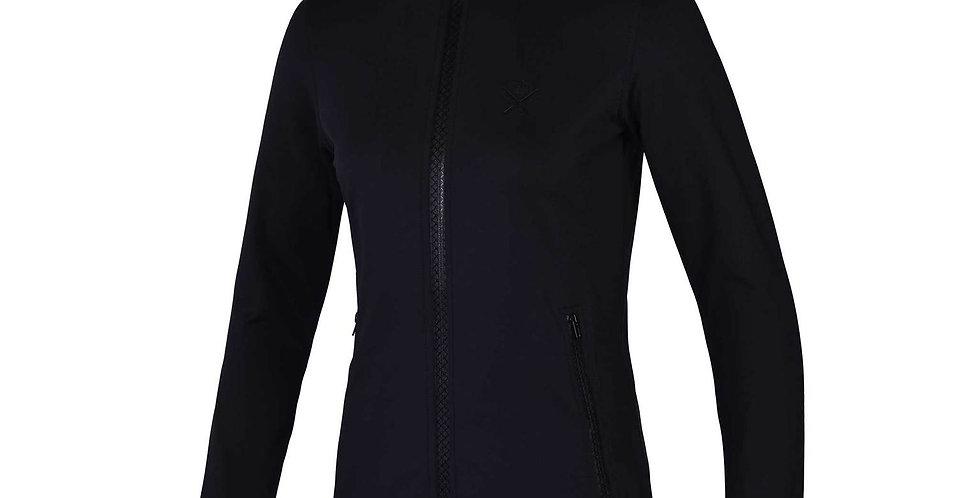 Kingsland - Arrowtown Ladies Fleece jacket, Black