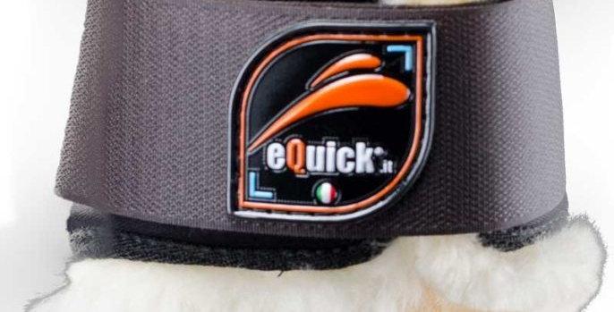 eQuick Elight bagben - Brun