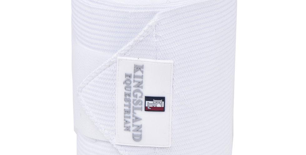 Kingsland - Elastik bandager, Hvide