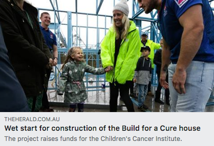 Children's Cancer Institute - Build for a Cure