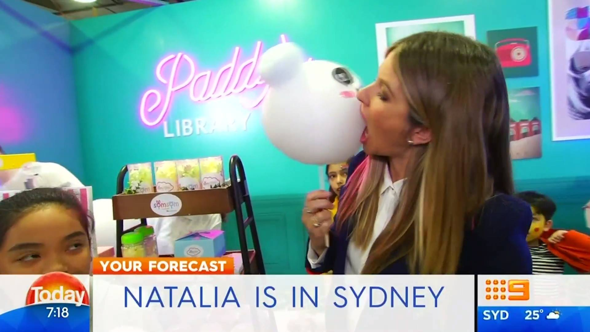 TODAY Show - Paddy's Pop-ups October