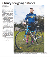 Children's Cancer Institute - Townsville to Cairns cycle