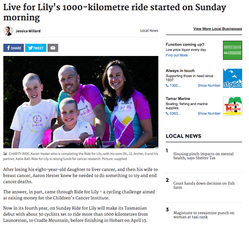 Ride for Lily