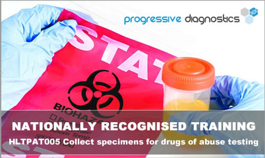 Nationally Recognised Drug and Alcohol Testing Training