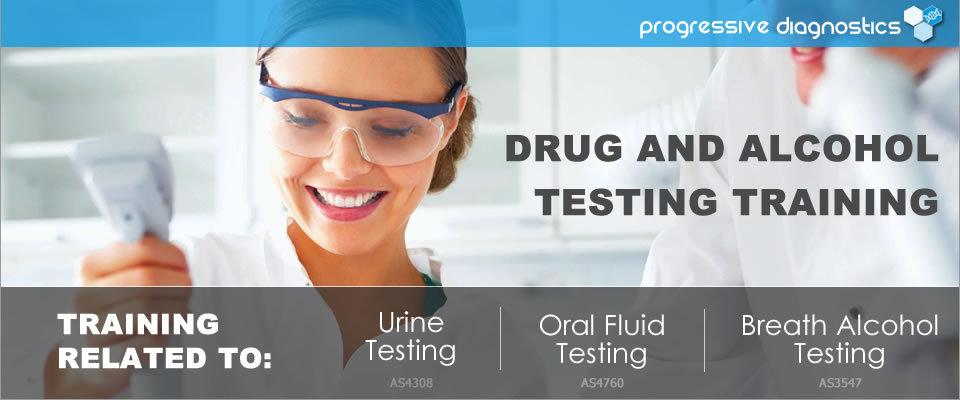 Progressive Diagnostics range of drug testing training services