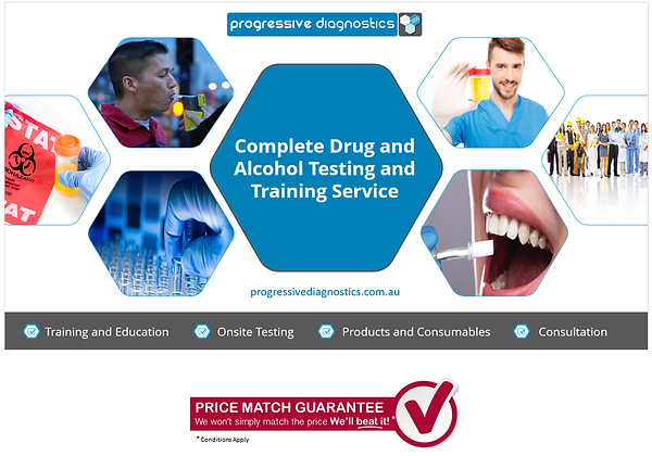 Progressive Diagnostics - Your complete drug and alcohol testing and training service