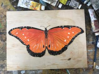 Butterfly 5, 2018